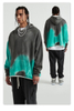 Low MOQ Mens Custom Cotton French Terry Pullovers Tie Dye Hoodie