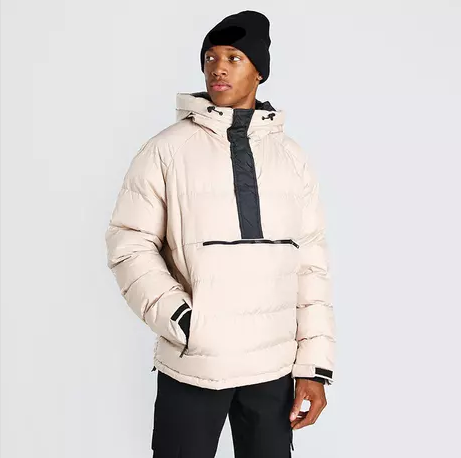 Custom Winter Warm Short Puffer Jacket